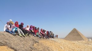 with muslimahbackpacker on pyramid