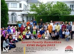 Santri Family KPMI BELGIA 2013