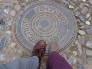 Our Steps in Alhambra :)