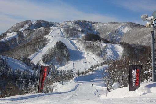 Trek bermain ski di Gala Yuzawa. Foto dari: http://www.japanican.com/en/tour/detail/SKI1G003A/