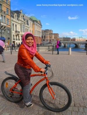 bersepeda di stockholm 5-9-2013