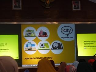Aneka kanal dalam Forum ICITY