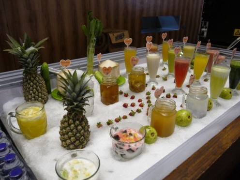 Display aneka minuman