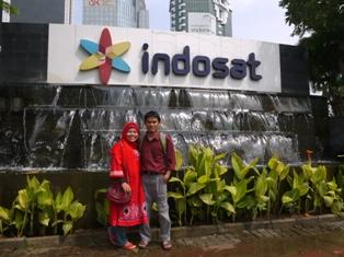 Alhamdulillah, pasangan Honeymoon Backpacker jauh-jauh datang dari Bandung demi Kopdar Guru Blogger Nasional di Jakarta!