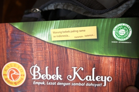 Alhamdulillah,Bebek Kaleyo sudah mendapat sertifikasi halal MUI!