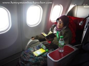 Quran sahabat Mama dalam pesawat Air Asia