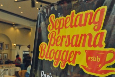 Sepetang Bersama Blogger 2014 (Sumber foto: www.anazkia.com)